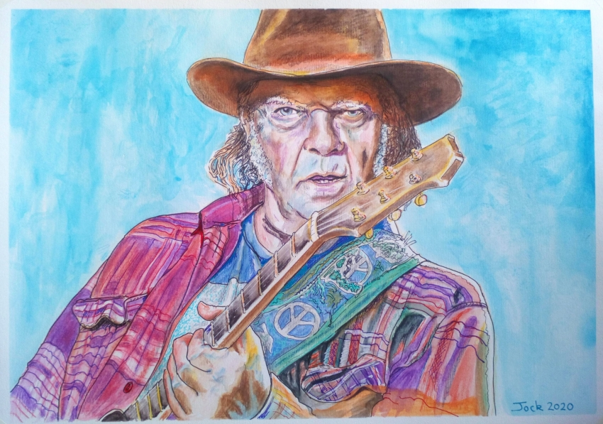 Neil Young by jockyp